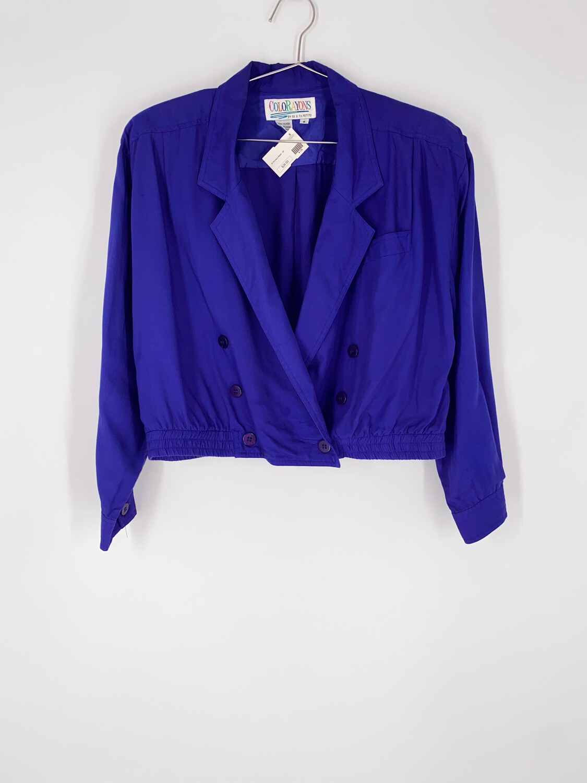 Colorayons Purple Blazer Size Medium