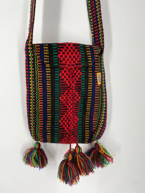 Pinzón Colorful Knit Crossbody Bag