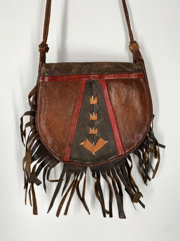 Fringe Western Crossbody Bag