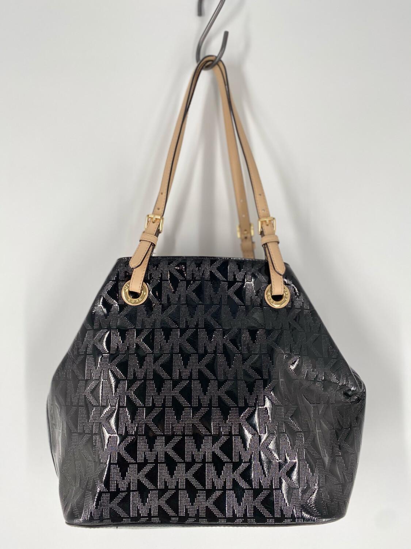 Michael Kors Monogrammed Shoulder Bag