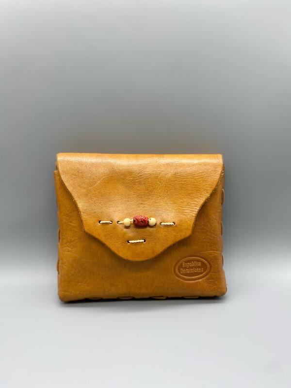 Republica Dominicana Leather Crossbody Bag