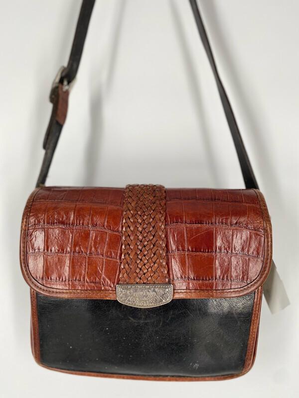 Brighton Leather Crossbody Bag