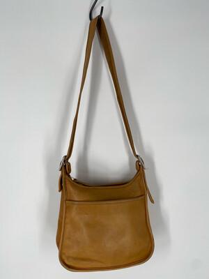 Vintage Tan Coach Shoulder Leather Bag
