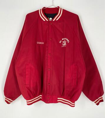 Auburn Sportswear St. Michael Bomber Jacket Size XXL