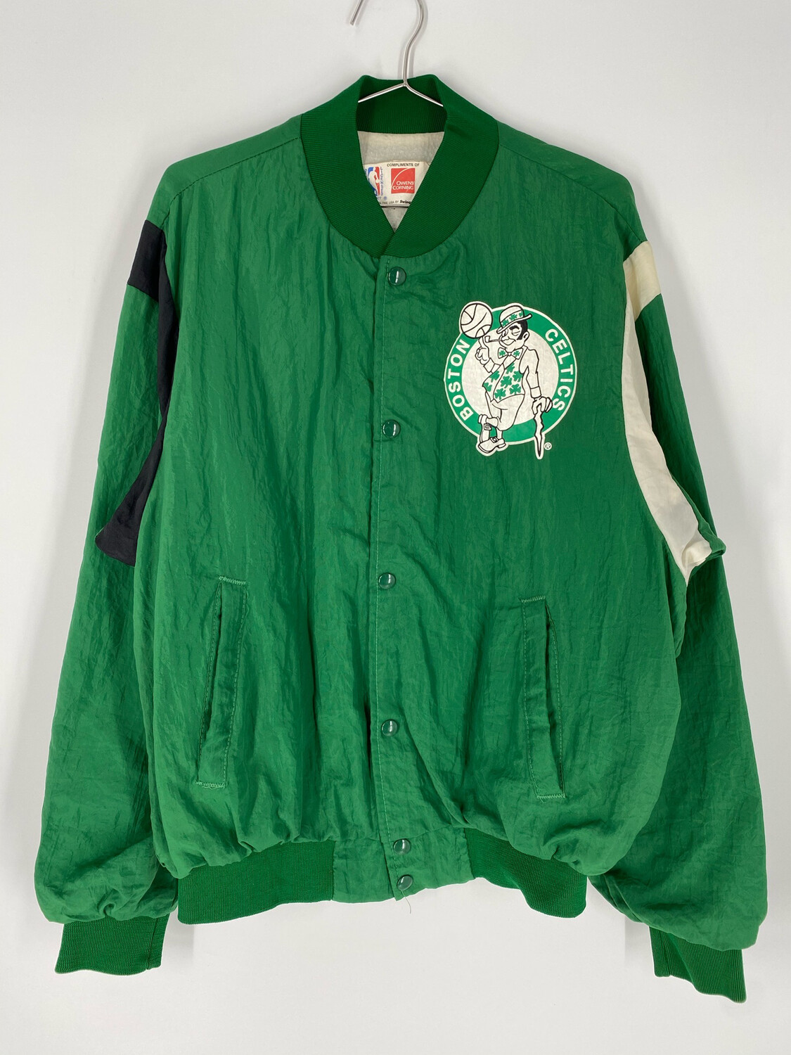 NBA Celtics Bomber Jacket Size Large