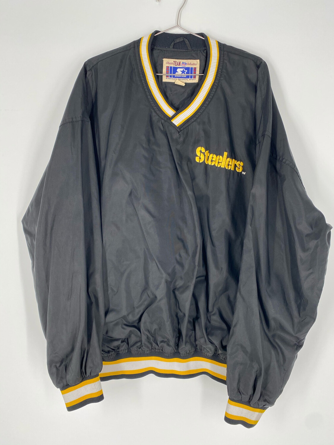 NFL Starter Steelers Embroidered Windbreaker Size XL