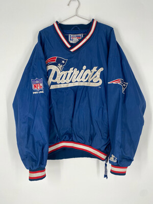 NFL Pro Line By Starter Patriots Embroidered Windbreaker Size XL
