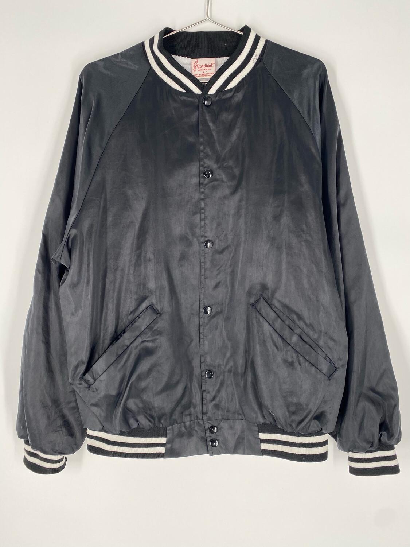 Cardinal Black Bomber Jacket Size Large