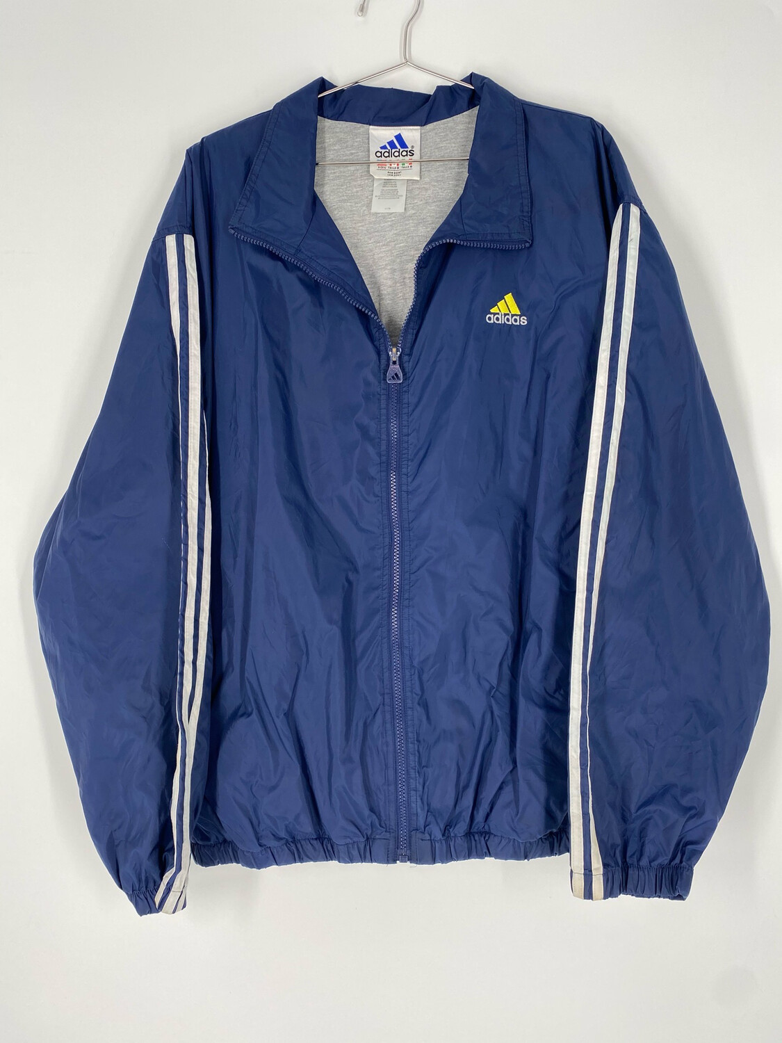 Adidas Blue Windbreaker Size Large