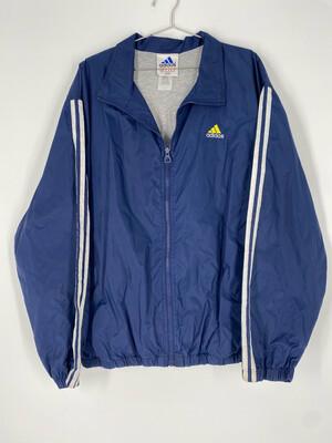 Adidas Blue Windbreaker Size Large
