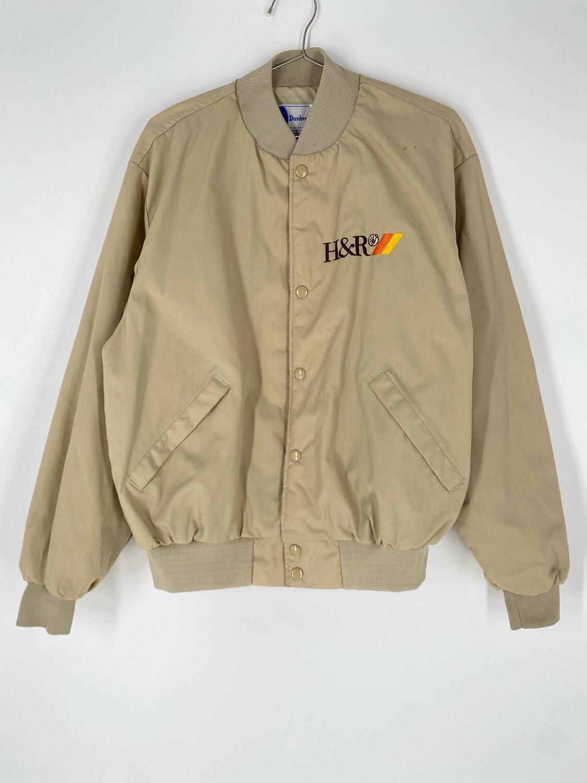 Dunbrooke H&R Embroidered Bomber Jacket Size Medium