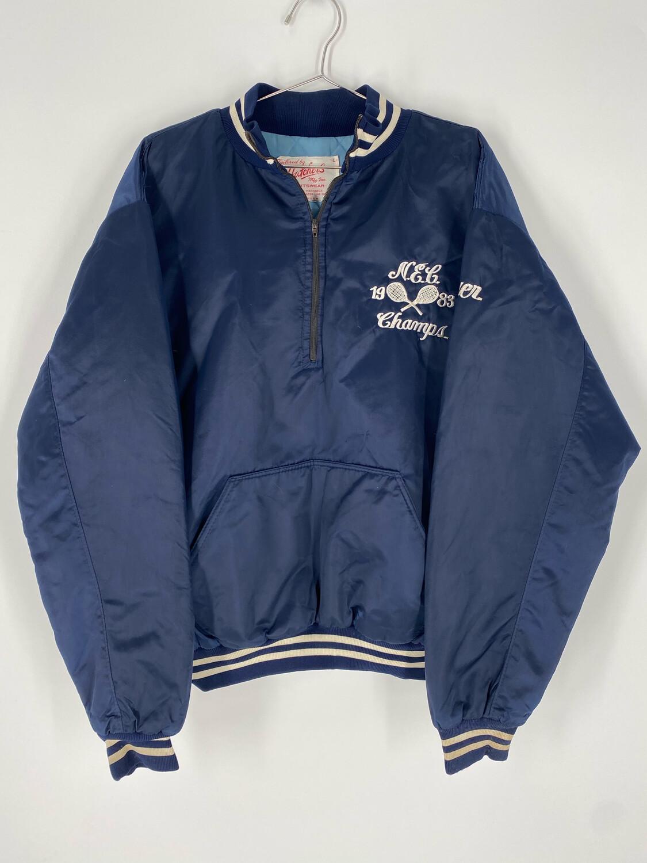 Hatcher's Sportswear Embroidered Quarter Zip Jacket Size Large