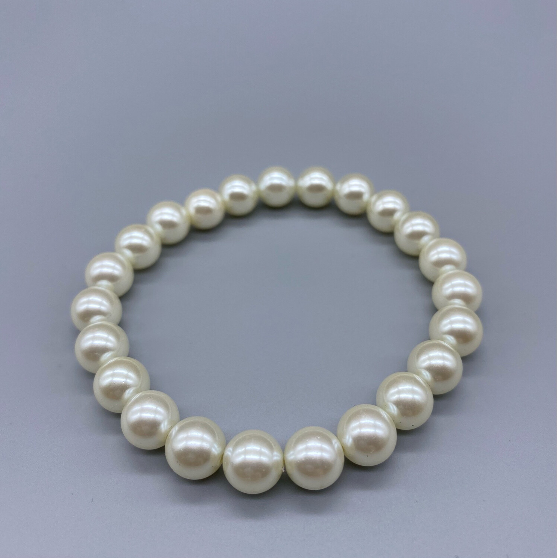 Vintage Ivory Pearl Bracelet