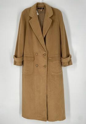 Brooks Brothers Camel Long Coat Size L