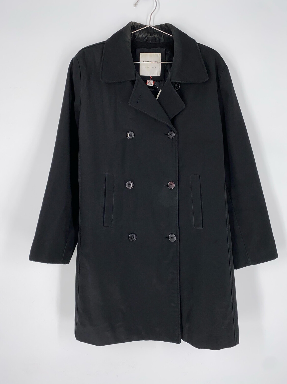 Andrew Marc Black Lightweight Jacket Size L