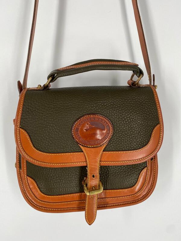 Dooney & Bourke Leather Crossbody Handle Bag