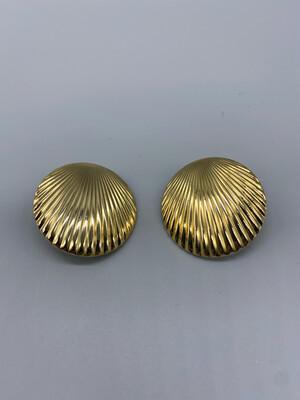 Gold Clip-On Earrings