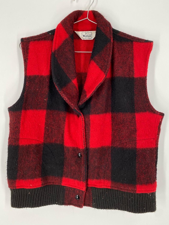 Woolrich Wool Vest Size M