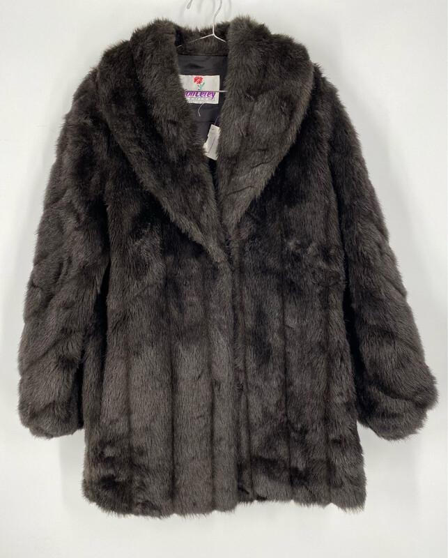 Monterey Faux Fur Coat Size L