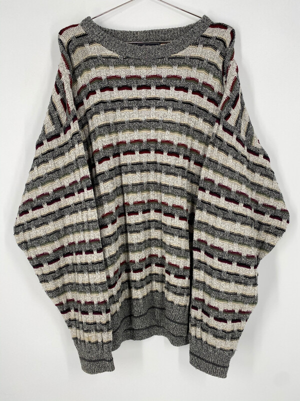 Peconic Bay Traders Printed Crewneck Sweater Size L