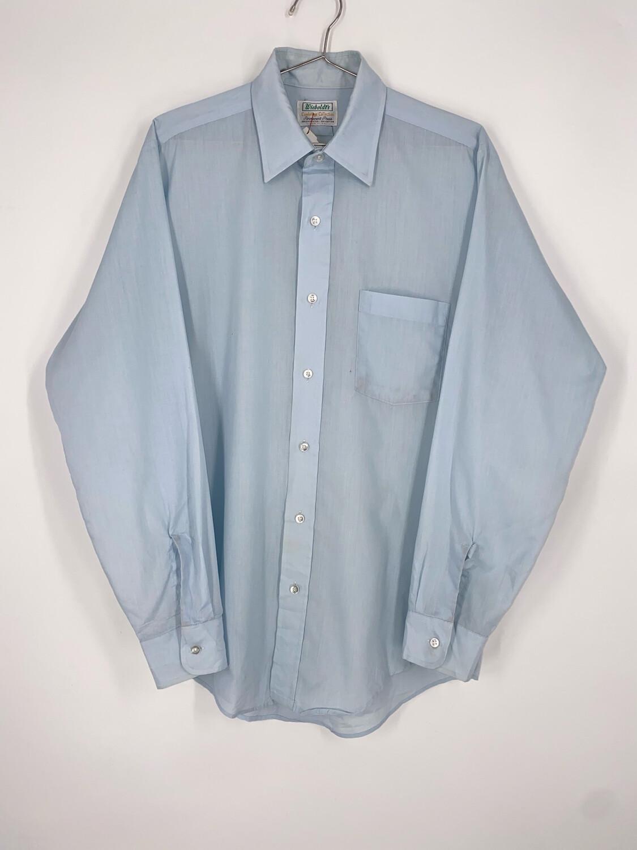 Wieboldt's Baby Blue Button Up Size M