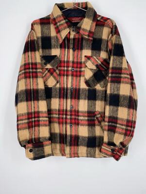 Kingsport Wool Flannel Lightweight Jacket Size M
