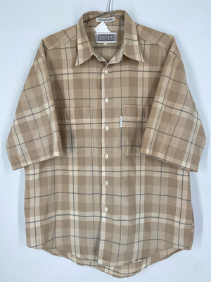 Levi's Silver Label Short Sleeve Button Up Size M