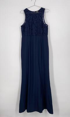 Lulu's Sleeveless Crochet Maxi Dress Size XL