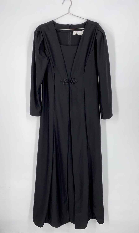 Southeastern Maxi Long Sleeve Dress Size L