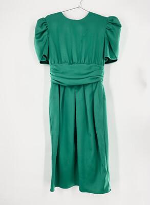 R&K Green 80's Style Dress Size M