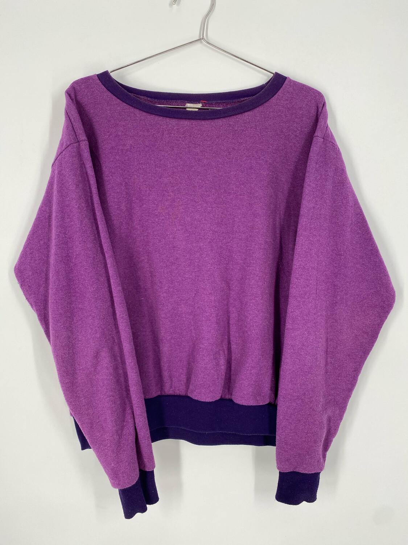 Vintage Purple Crewneck Sweatshirt Size S