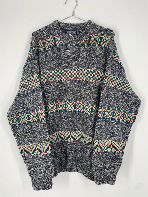 Pendleton Vintage Printed Sweater Size L