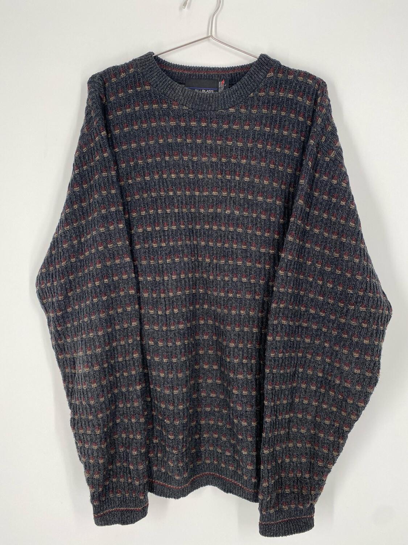 Bill Blass Vintage Printed Sweater Size L