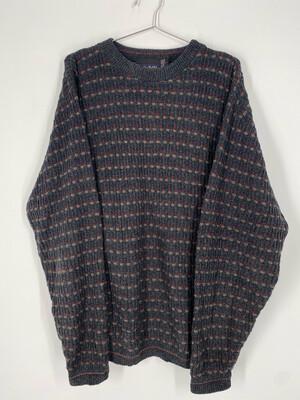 Chereskin Vintage Printed Sweater Size M