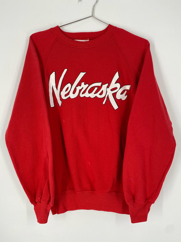 Vintage Nebraska Crewneck Sweatshirt Size M