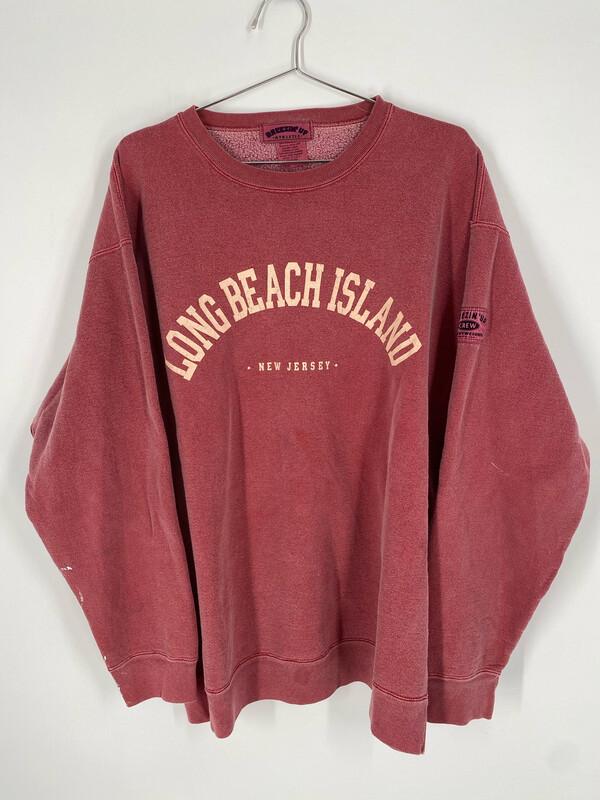 Long Beach Island New Jersey Vintage Crewneck Size L