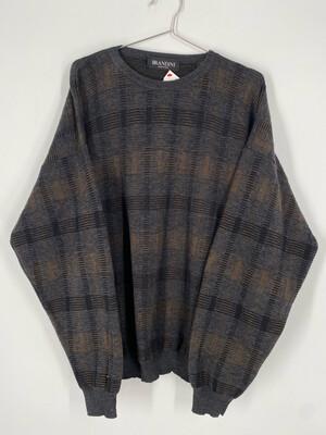 Brandini Printed Wool Sweater Size L