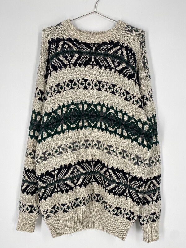 NEO Northeast Outfitters Printed Sweater Size L
