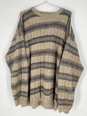 Bill Blass Vintage Striped Sweater Size XL