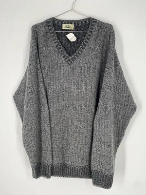 Timber Trail V-Neck Vintage Sweater Size XL