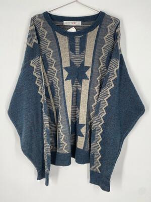 Jantzen Vintage Printed Sweater Size XL