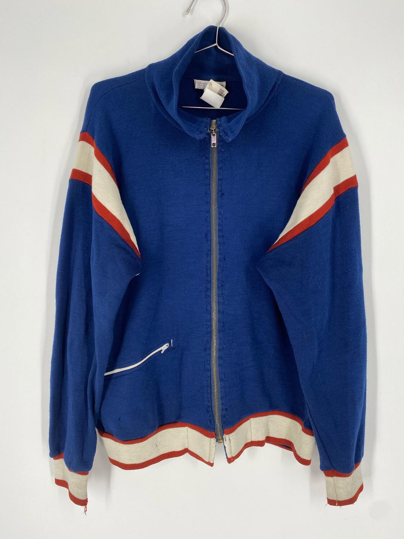 Winning Ways Zip Up Vintage Sweater Size M