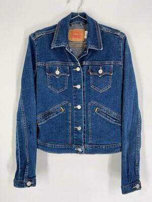 Levi's Fitted Vintage Denim Jacket Size S