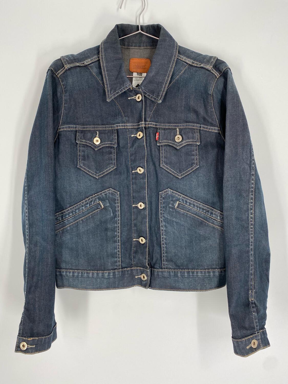 Levi's Vintage Grey Denim Jacket Size S