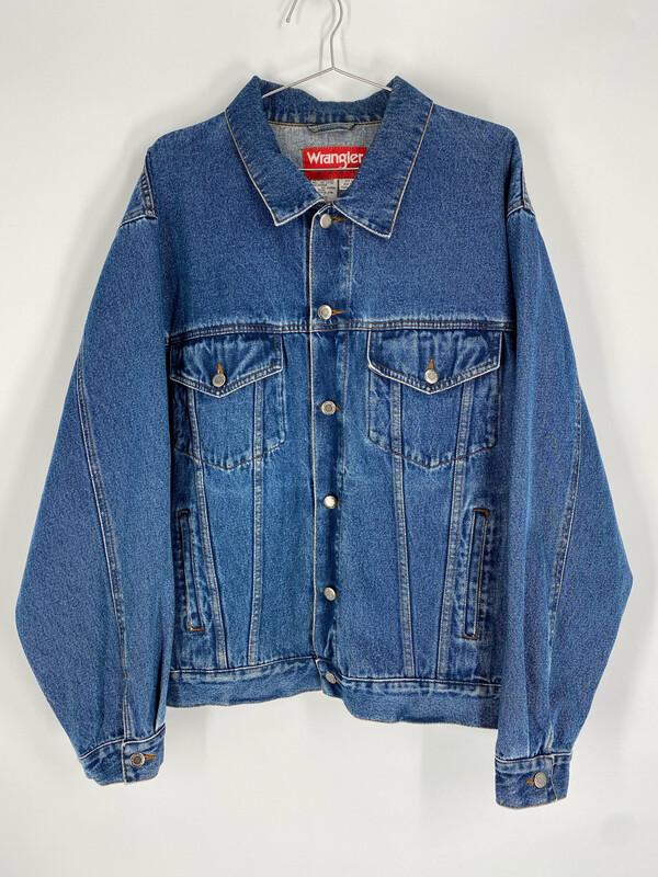 Wrangler Hero Vintage Denim Jacket Size L