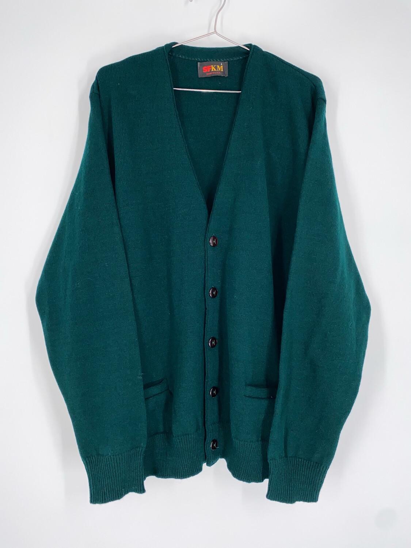 SFKM Dark Green Cardigan Size L
