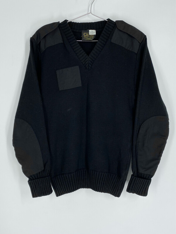 Citadel Black Patch Sweater Size S