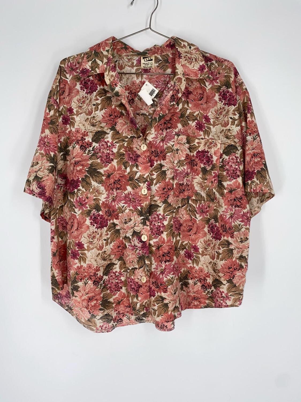 Suzu Floral Button Up Size L