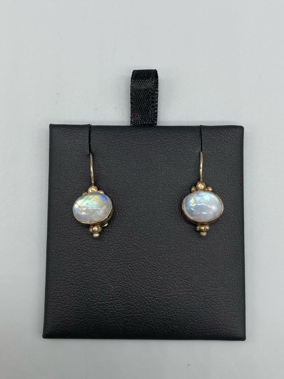 Vintage Moonstone Drop Earrings