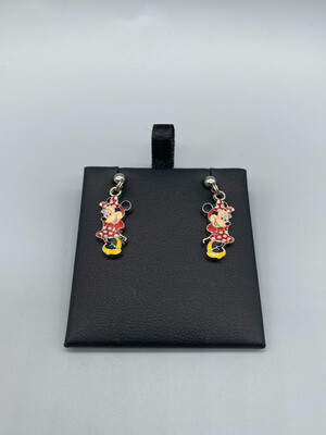 Minnie Mouse Pendant Earrings